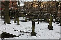 NT2473 : A Snowy St. John's Graveyard by Calum McRoberts