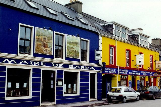 Dingle Town - Strand Street - Maire De Barra