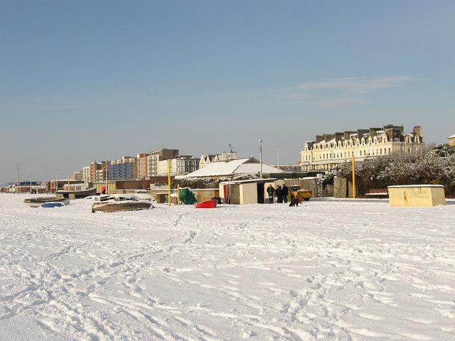Fishermen's Area, Hove Beach
