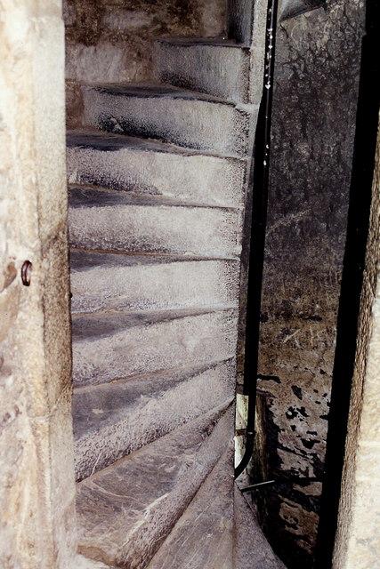 Blarney Castle interior stairway
