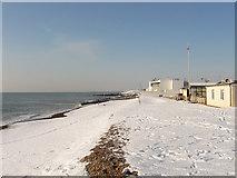 TQ2604 : Beach, Hove Deep Sea Anglers Club by Simon Carey