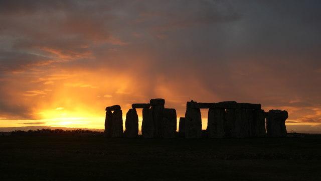 Stonehenge Sunset (2)