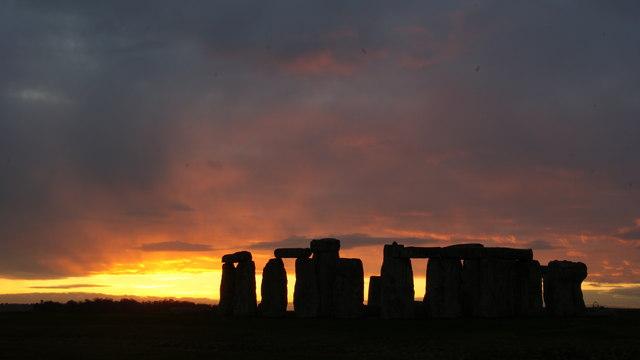 Stonehenge Sunset (3)