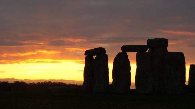 Stonehenge Sunset (4)