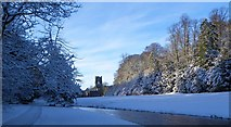 SE2768 : Winter morning, Fountains Abbey by Gordon Hatton