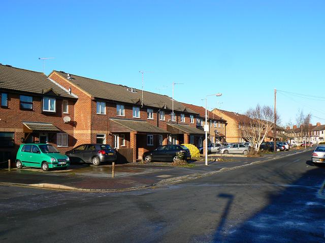 New houses, Newcastle Street, Swindon