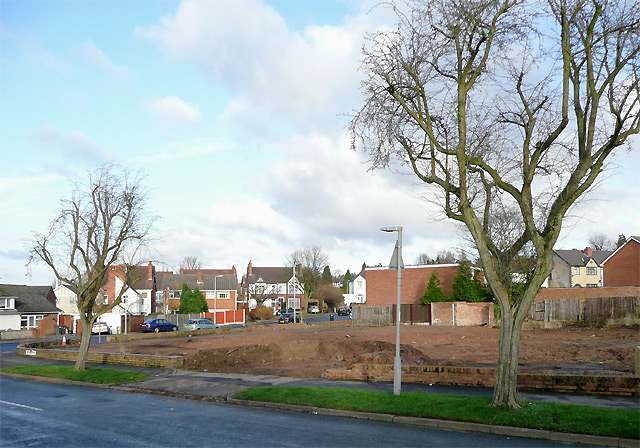 Site of former Battle of Britain, Penn, Wolverhampton