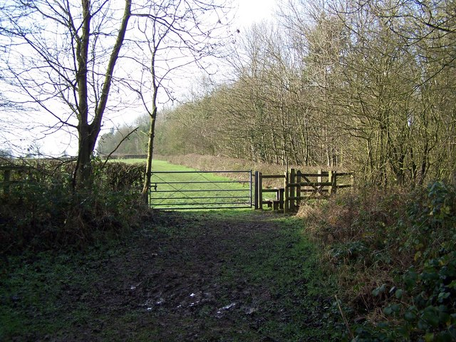 Footpath Near Fauld Crater