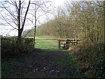 SK1827 : Footpath Near Fauld Crater by Geoff Pick