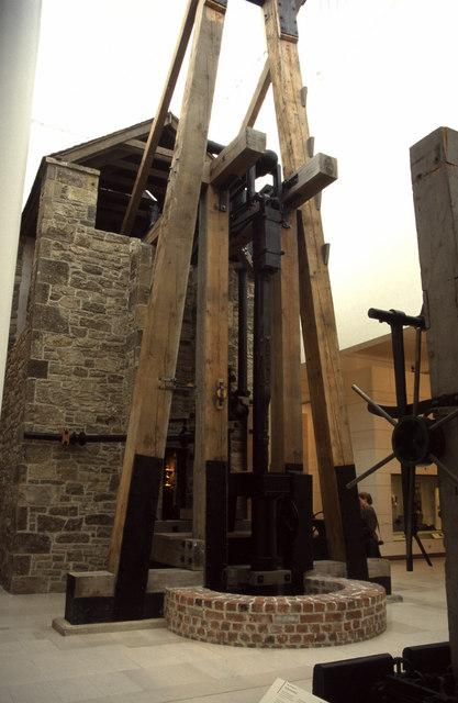 Caprington Colliery Newcomen engine, National Museum of Scotland