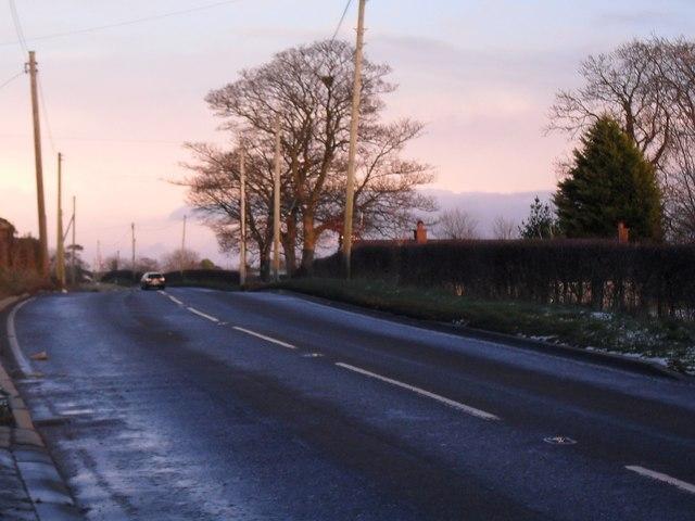 Hillsborough Road at Ballynagarrick