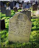 J5081 : Grave, Bangor Abbey churchyard by Rossographer