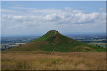 NZ5812 : The path up Roseberry Topping by Bill Boaden