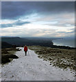 J3279 : Wintry path on Cave Hill by Rossographer