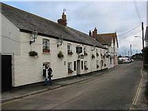SW8773 : The Farmers Arms, St Merryn by Bill Henderson