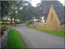 SK4565 : Lane junction at Stainsby Mill by Trevor Rickard