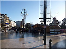 SZ0891 : Bournemouth: Christmas market in The Square by Chris Downer