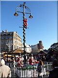 SZ0891 : Bournemouth: the North Pole in The Square by Chris Downer
