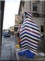 SJ3590 : Penguins in Lime Street #2 by John S Turner