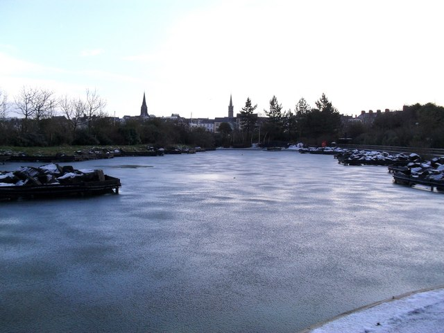 Frozen Pickie Pool, Bangor (3 of 3)