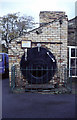 NY8892 : Cornish boiler, Otterburn Mill by Chris Allen