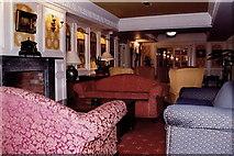 R4560 : Bunratty - Bunratty Castle Hotel lobby by Joseph Mischyshyn