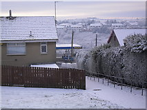 J2053 : Snow at Weirs Row, Dromore by Dean Molyneaux