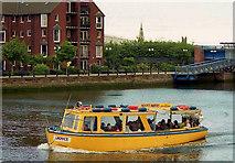 "J3474 : The ""Joyce"" on the Lagan, Belfast by Albert Bridge"
