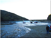 SW9980 : Low Tide at Port Isaac Haven by Bill Henderson