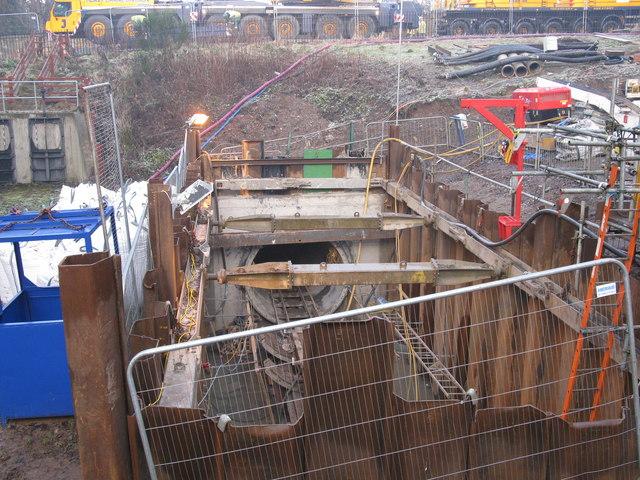 Tunnel under Redford Road Edinburgh