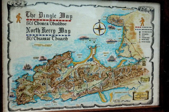 Tralee - Sign - The Dingle Map