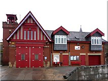 NZ3671 : Cullercoats Lifeboat Station by Andrew Curtis