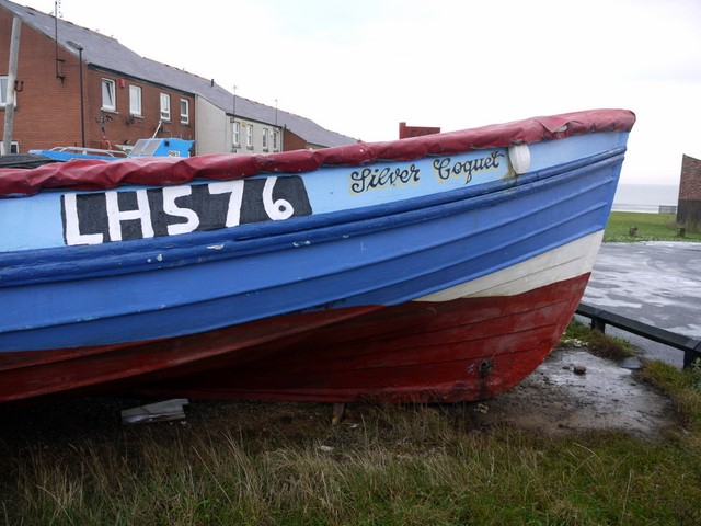 'Silver Coquet' fishing coble, Cullercoats