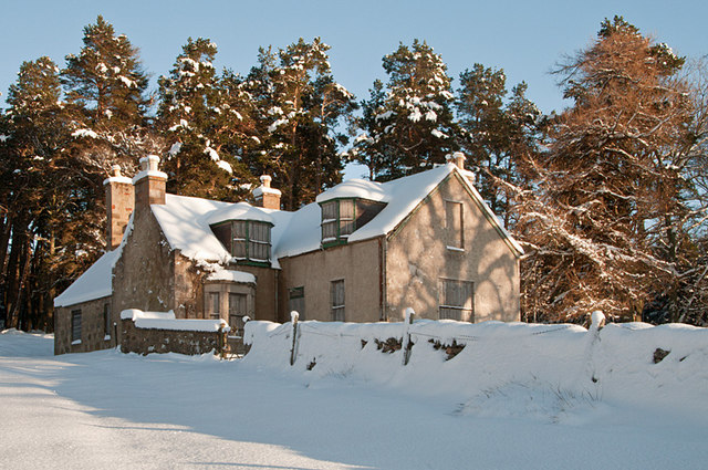 The house at Bovaglie under snow