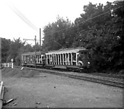 SC4384 : Near Laxey Car Shed, Manx Electric Railway by Dr Neil Clifton