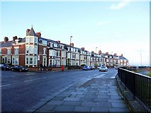 NZ3671 : Windsor Crescent, Whitley Bay by Andrew Curtis