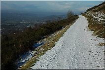 SO7641 : Path on Pinnacle Hill by Philip Halling