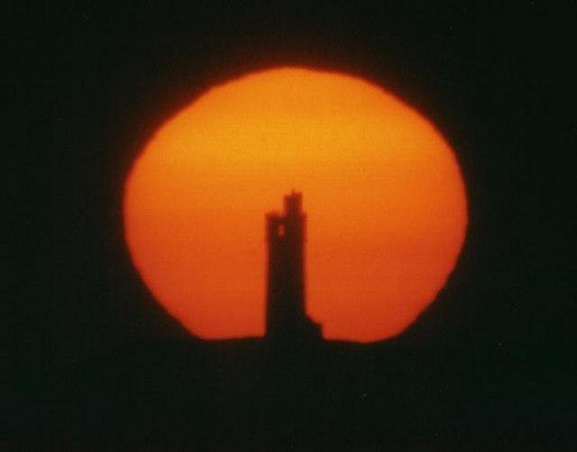 Castle Hill summer solstice sunset