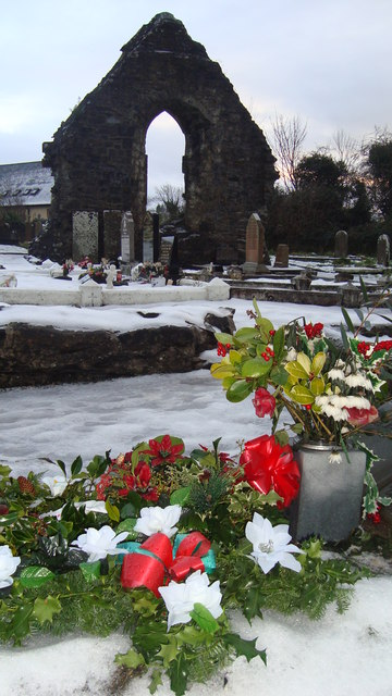 Friary Ruins on Stephen's Day