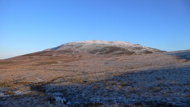 Boggy groundsouth-west of Gleann nam Meirleach and Sgarbh Breac