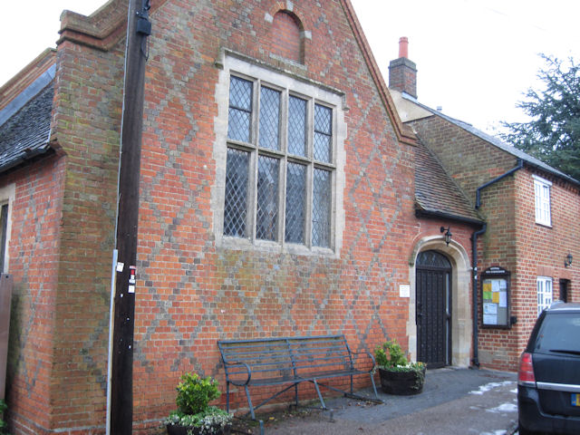 Weedon Old schoolroom