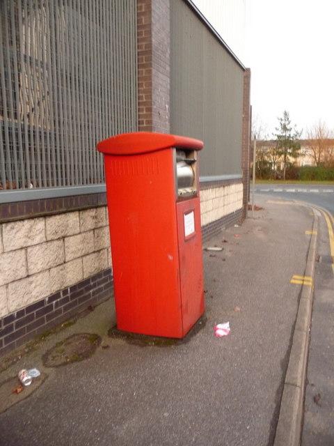 Stanley Green: postbox № BH15 505, Willis Way