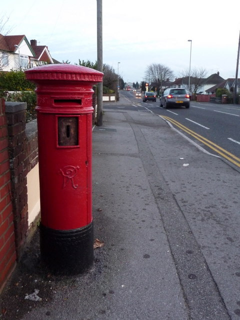 Oakdale: postbox № BH15 162, Wimborne Road