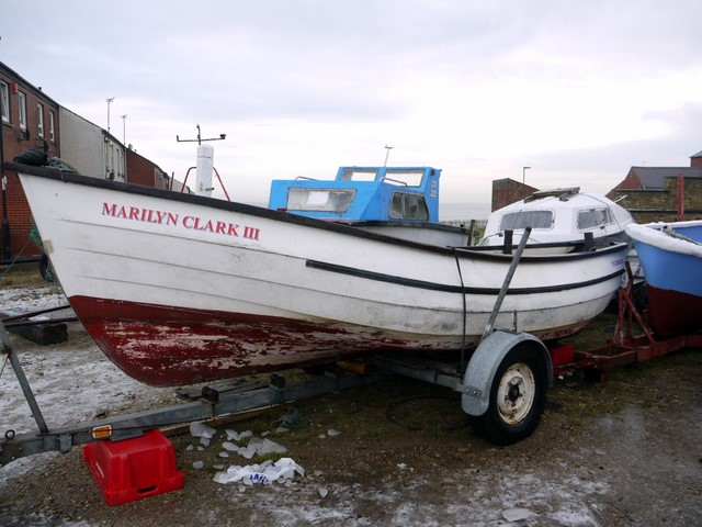 'Marilyn Clark III' fishing coble, Cullercoats