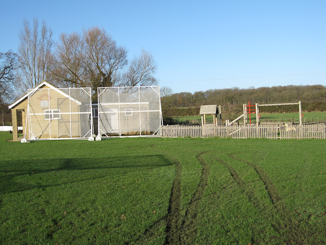 Weston Colville cricket pavilion