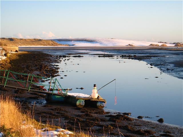 Newburgh: Christmas fishing expedition