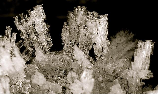Newburgh: ice crystals