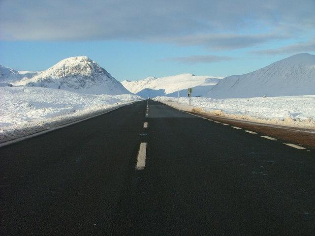 Heading towards Glencoe