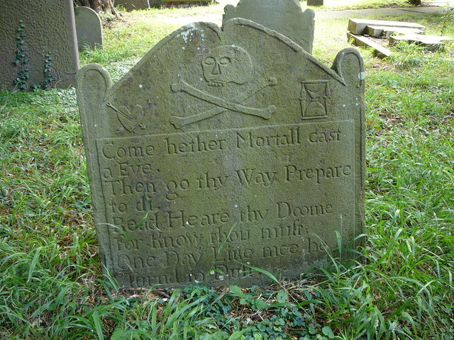 The grave of a pirate, Brockley Churchyard
