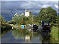 SU3368 : Stormy canal by Des Blenkinsopp